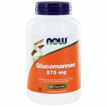 Glucomannan 575 mg (180 caps) - NOW Foods