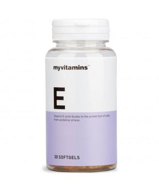 Myvitamins Vitamin E, 30 Soft Gels (30 Softgels) - Myvitamins