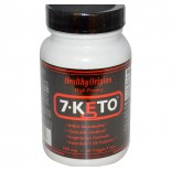 7-Keto 100 mg (120 Veggie Caps) - Healthy Origins