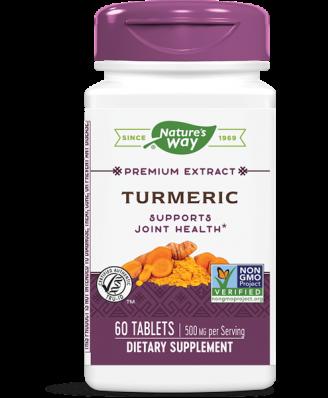 Kurkuma gestandaardiseerd (60 tabletten) - Nature's Way