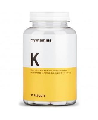 Myvitamins Vitamin K, 90 Tablets (90 Tablets) - Myvitamins
