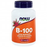 B-100 Vitamine B-Complex (100 vegicaps) - NOW Foods