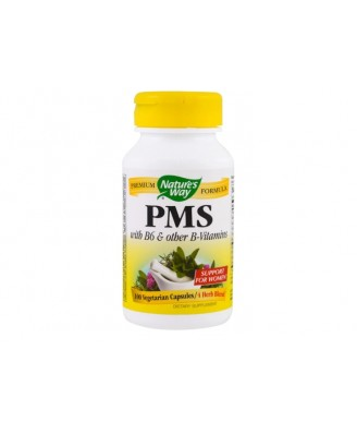 Nature's Way, PMS, With Vitamin B6 & 5-HTP, 418 mg, 100 Capsules