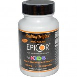 EpiCor for Kids 125 mg (60 Veggie Caps ) - Healthy Origins