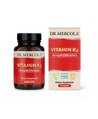 Dr. Mercola, Vitamin K2, 30 Capsules
