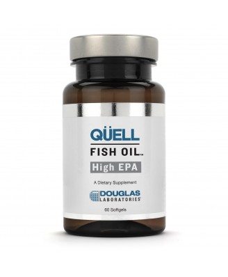 Douglas Laboratories,Quell Fish Oil High EPA - 60 Softgels