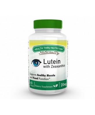 Lutein (as LuteMax® 2020) 20 mg (non-GMO) (60 Softgels) - Health Thru Nutrition