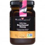 100% Raw Beechwood Honey (500 gram) - Wedderspoon Organic