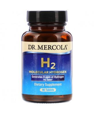 Dr. Mercola, H2 Molecular Hydrogen, 90 Tablets