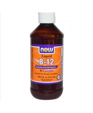 Vloeibare vitamine B12 B-Complex (237 ml) - Now Foods