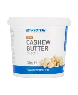 Natural Cashew Butter, Unflavoured, Tub, 1kg - MyProtein