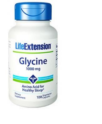 Glycine 1000 mg - 100 vegetarische Capsules  - Life Extension