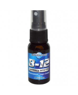 Vitamine B - vitamine B12 Spray, 500 mcg (30ml) - Pure Advantage