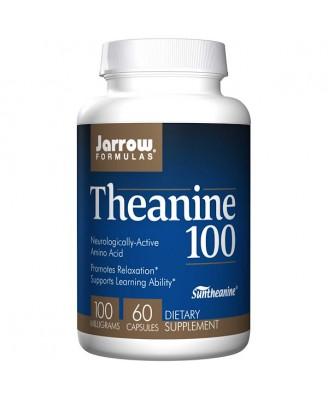 Theanine 100 mg (60 Vegetarian Capsules) - Jarrow Formulas