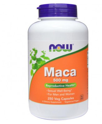 Maca 500 mg (250 Veggie Caps) - Now Foods