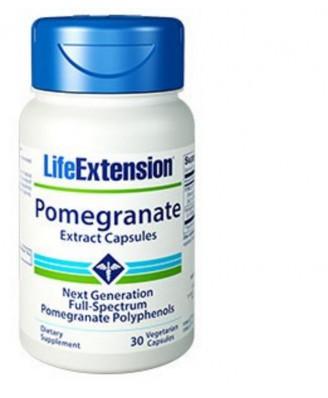 Granaatappel Extract Capsules, 30 Plantaardige Capsules - Life Extension