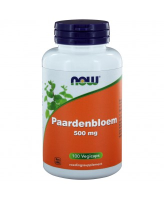 Paardenbloem 500 mg (100 vegicaps) - NOW Foods