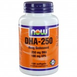 DHA-250 (120 softgels) - NOW Foods