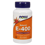 Vitamin E-400 IU (100 Softgels) - Now Foods