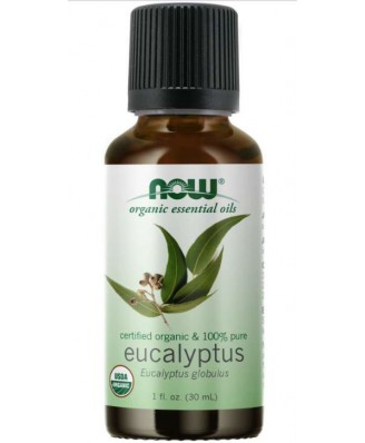 Organic Eucalyptus Globulus Oil (30 ml) - Now Foods