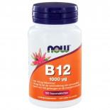 B12 1000 μg (100 kauwtabs) - NOW Foods