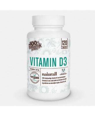 Vegan Vitamin D3 1000 IU (120 Tablets) - Naturall