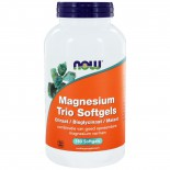 Magnesium Trio Softgels (180 softgels) - NOW Foods