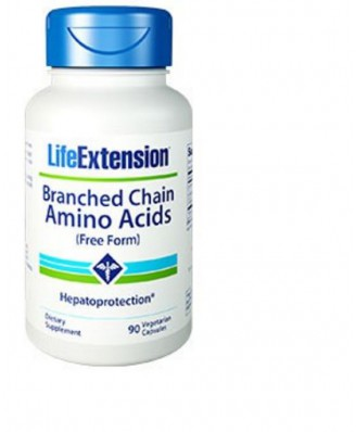 Branched Chain Amino Acids - 90 capsules - Life Extension