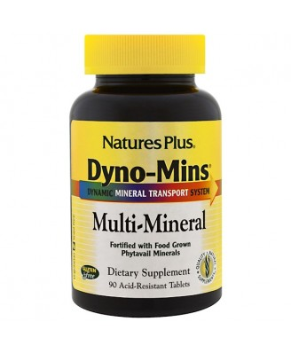 Dyno-Mins Multi-Mineral (90 Tablets) - Nature's Plus
