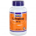 L-Proline 500 mg (120 vegicaps) - NOW Foods