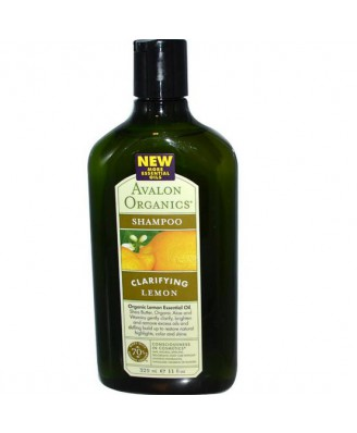 Shampoo Citroen (325 ml) - Avalon Organics