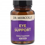Dr. Mercola, Eye Support, with Lutein, 30 Capsules
