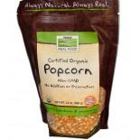 Biologische Popcorn (680 gram) - Now Foods