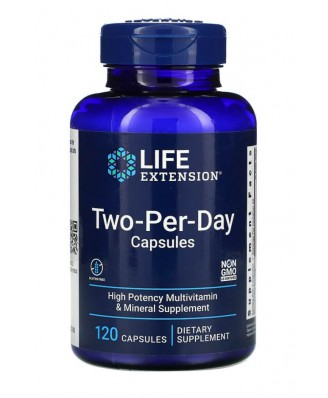 Two-Per-Day Capsules - 120 tabletten - Life Extension