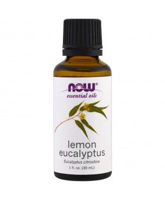 Essential Oils- Lemon Eucalyptus (30 ml) - Now Foods