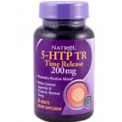 Natrol, 5-HTP TR, Time Release, 200 mg, 30 Tablets