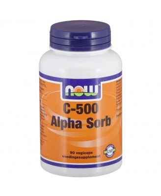 C-500 Alpha Sorb (90 vegicaps) - NOW Foods
