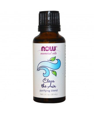Essential Oils - Clear the Air- Purifying Blend (30 ml) - Now Foods