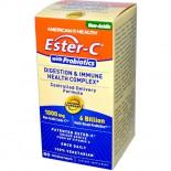 Ester-C met probiotica (60 Veggie Tabs) - American Health