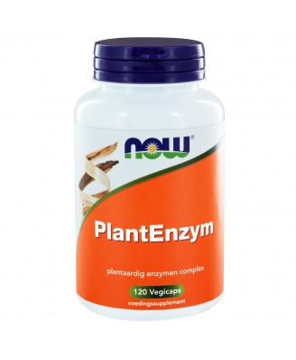 PlantEnzym (120 vegicaps) - NOW Foods