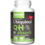 Ubiquinol QH-Absorb 200 mg (60 softgels) - Jarrow Formulas