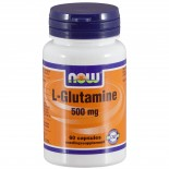 L-Glutamine 500 mg (60 capsules) - Now Foods