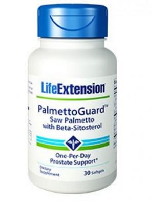 Palmettoguard Saw Palmetto Met Beta-Sitostero - 30 Softgels - Life Extension