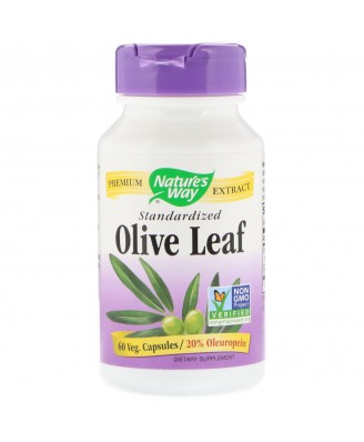 Olive Leaf, Standardized, 60 Vcaps,Nature's Way