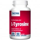 L-Tyrosine 500 mg (100 Capsules) - Jarrow Formulas