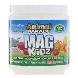 Animal Parade - Mag Kidz - Children's Magnesium - Natural Cherry Flavor (171 grams) - Nature's Plus