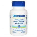 Florassist Hartgezondheid Probiotica -  60 Plantaardige Capsules- Life extension