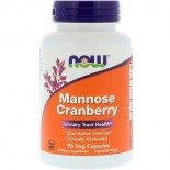 Mannose Cranberry (90 Vegetarian Capsules) - Now Foods