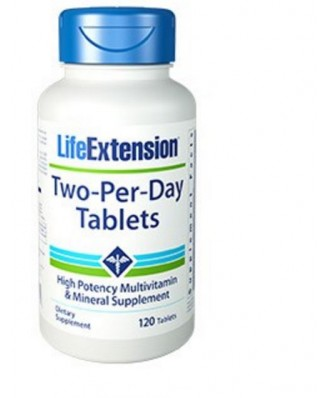 Two-Per-Day Capsules - 120 tabletten- Life Extension