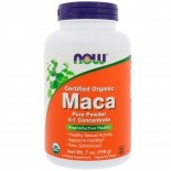 Certified Organic Maca Pure Powder (198 gram) - Now Foods